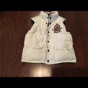 Ralph Lauren Reversible down filled vest sz M 8-10